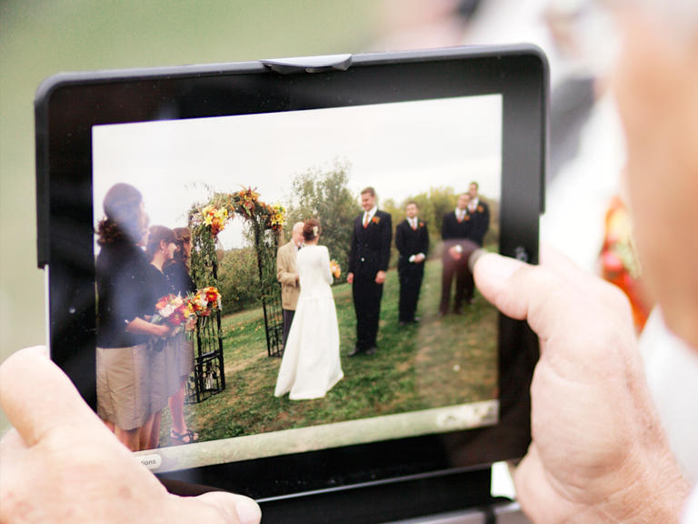 Virtual Wedding Ceremony during COVID